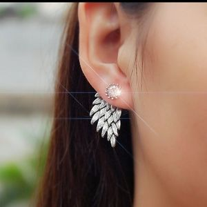NEW Angel Wing Stud Earrings